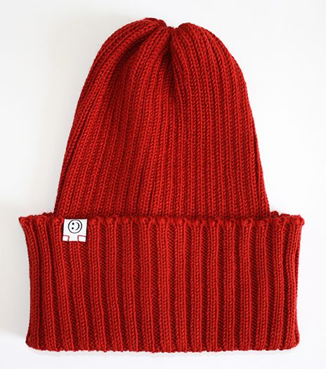 Red Merino Jacques Hat